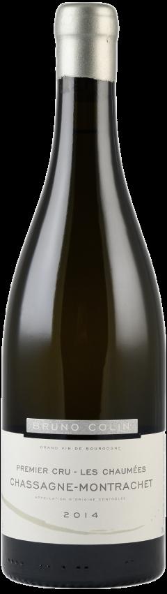 Bouteille de vin Bruno Colin