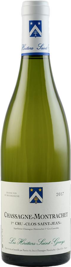 Bouteille de vin Les Héritiers Saint-Genys