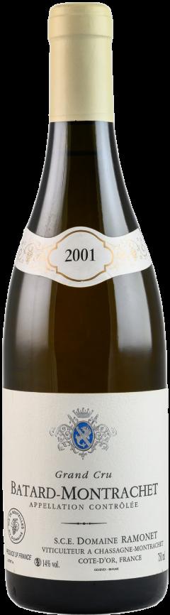 Bouteille de vin Domaine Ramonet